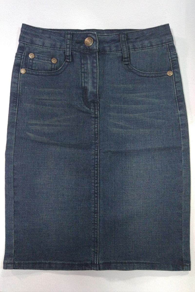 Girls Denim Skirt
