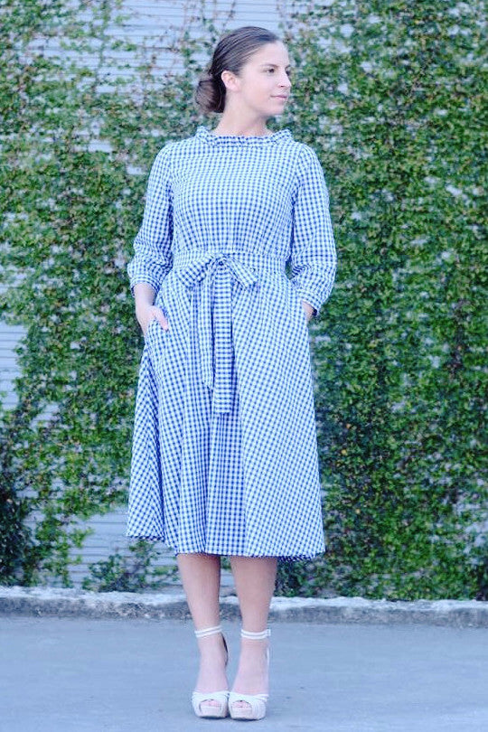 Victoria - Gingham Dress COMING SOON
