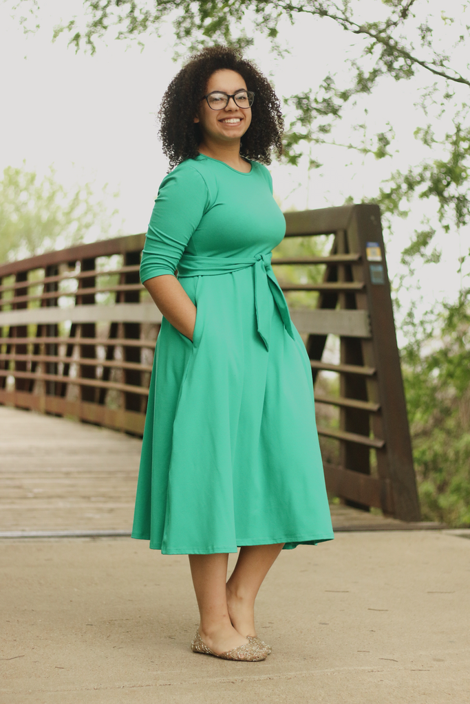 Green Bella Dress