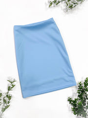 Girls 'Riley' Baby Blue Skirt