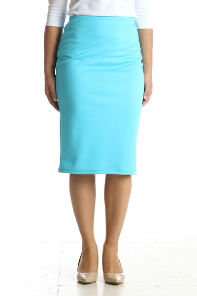 'Riley' Turquoise Skirt