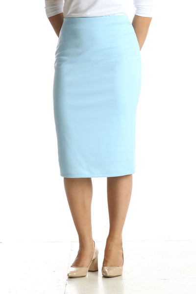 'Riley' Baby Blue Skirt