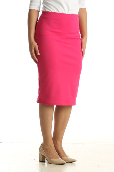 'Riley' Hot Pink Skirt