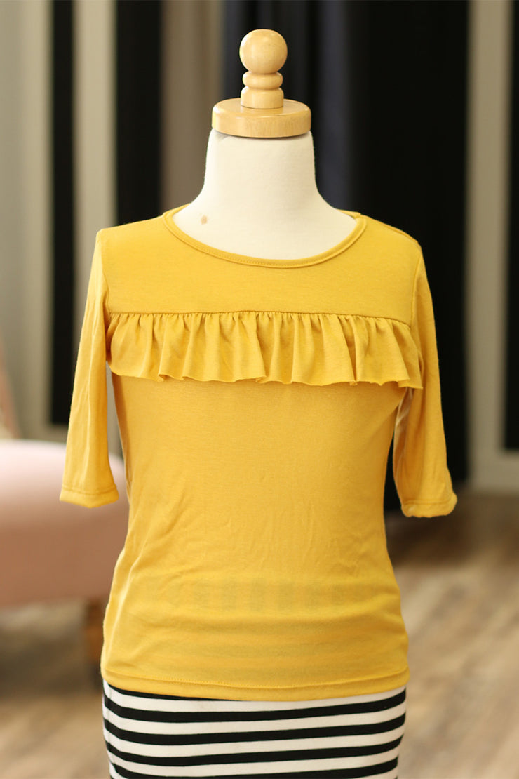 Mustard 'Jolie' Girls Top