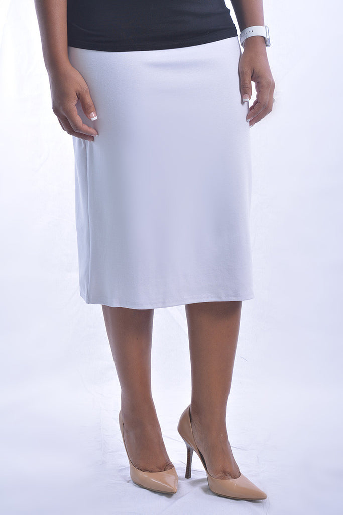 White Premium Skirt (FINAL SALE)