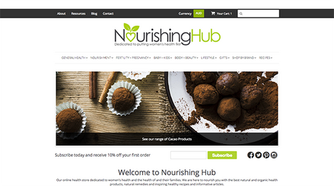 Nourishing Hub WELCOME
