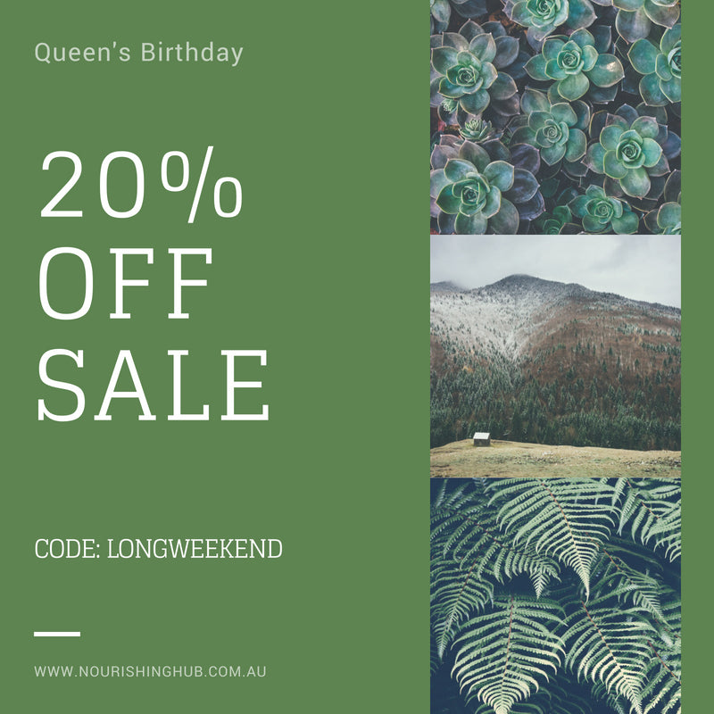 queens birthday sale