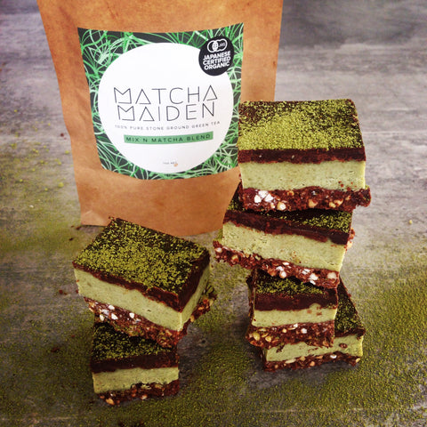 Matcha Maiden healthy snacks