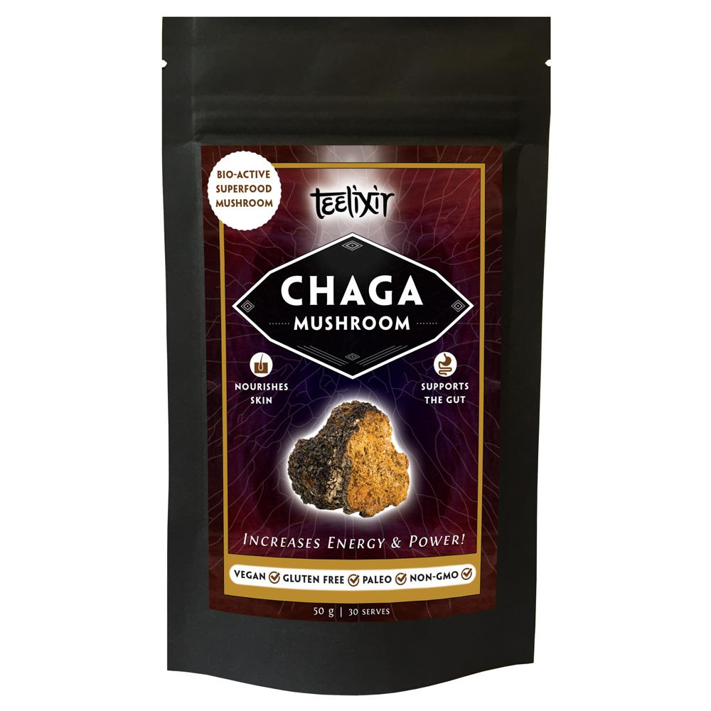 Teelixir Chaga Superfood Mushrooms - Nourishing Hub