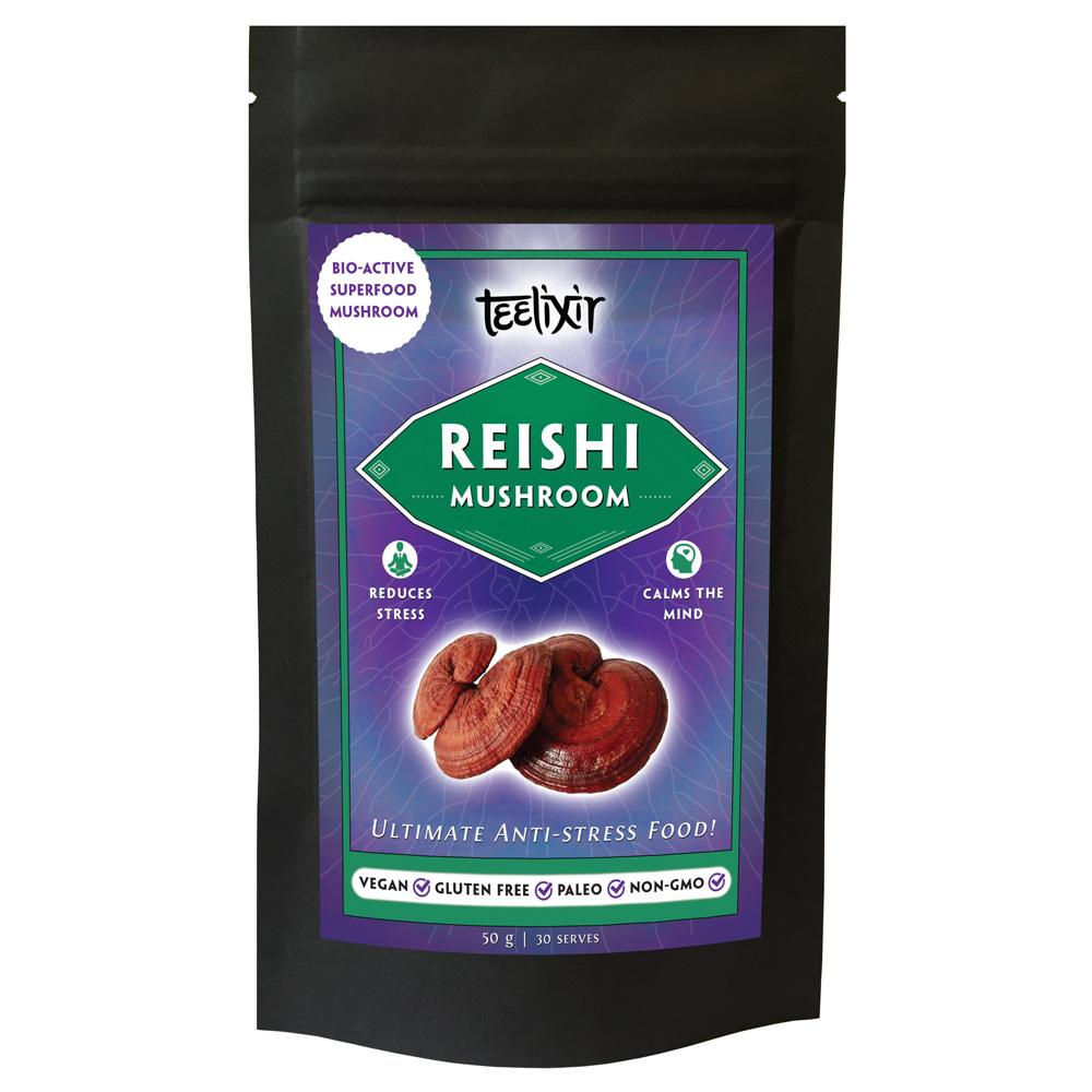 Teelixir Reishi Superfood Mushrooms - Nourishing Hub