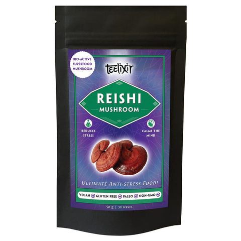 Teelixir Reishi Superfood Mushrooms 100g