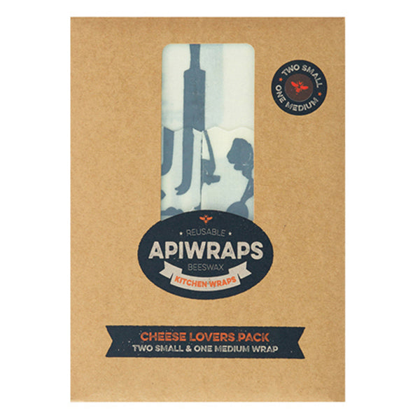 APIWRAPS Beeswax Wraps for Cheese - Nourishing Hub