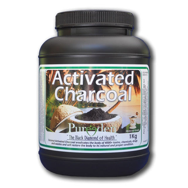 Pure Eden Activated Charcoal Powder - Nourishing Hub