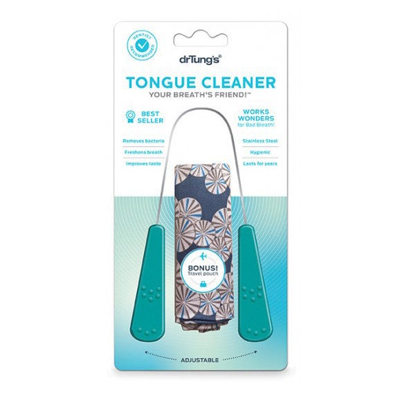 Dr Tung's Stainless Steel Tongue Cleaner - Nourishing Hub