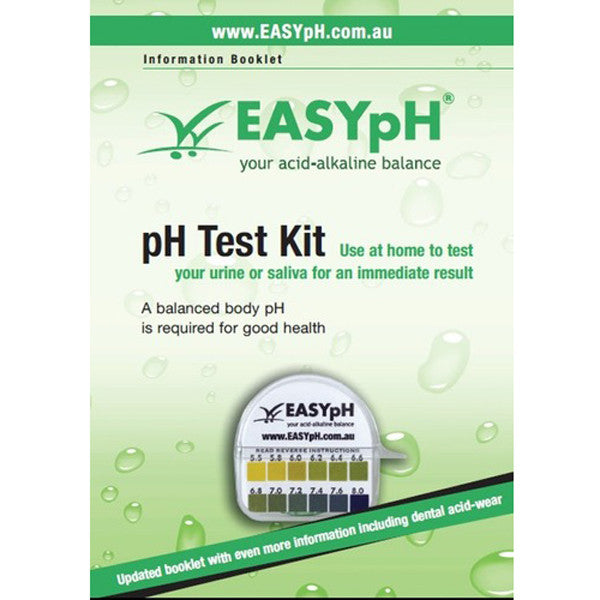 EASYpH Test Kit with Booklet - Nourishing Hub