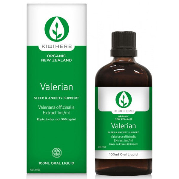 Kiwiherb Valerian Root Extract 50ml - Nourishing Hub