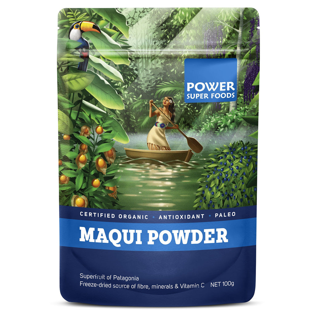 Power Super Foods Maqui Berry - 100g - Nourishing Hub