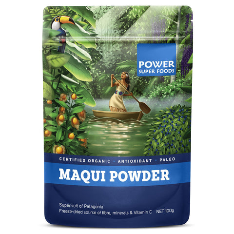Power Super Foods Maqui Berry - 100g 15% OFF