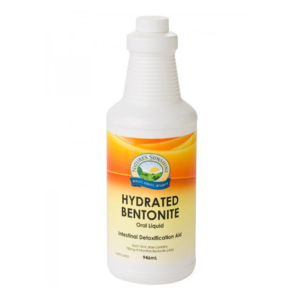 Nature's Sunshine Hydrated Bentonite - Nourishing Hub