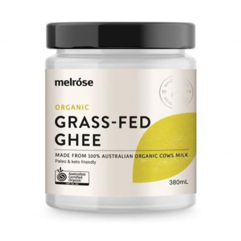 Organic Grass-Fed Ghee 380ml