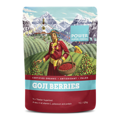 Power Super Foods Goji Berries - 250g - 20% OFF