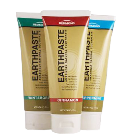 Redmond Earth Paste - Natural Toothpaste (Peppermint)