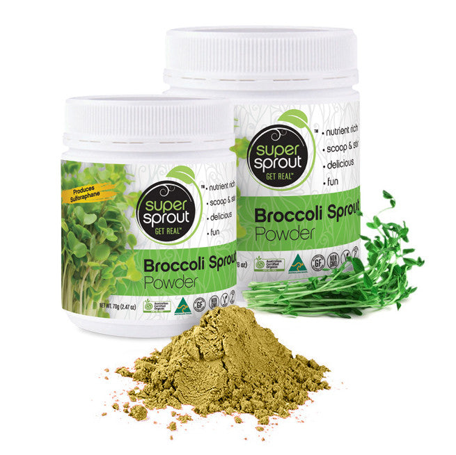 Super Sprout Broccoli Sprout Powder - Nourishing Hub