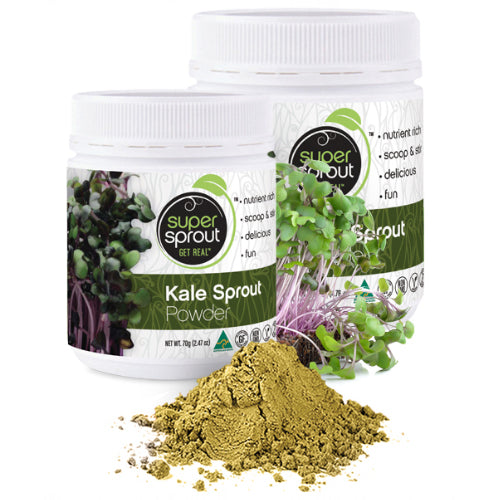 Super Sprout Kale Sprout Powder 135g - Nourishing Hub