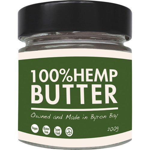 The Health Food Guys 100% Hemp Butter 200g - Nourishing Hub