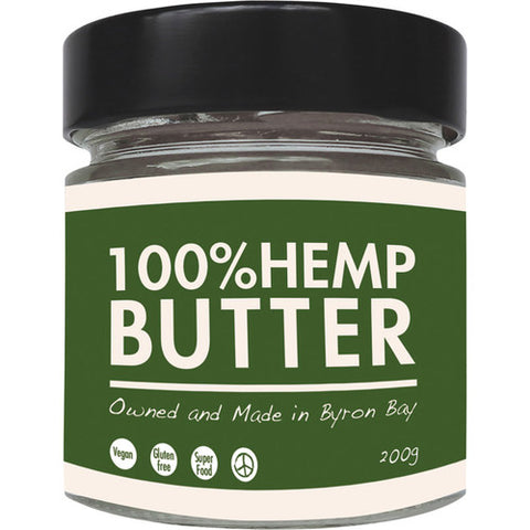 The Health Food Guys 100% Hemp Butter 200g
