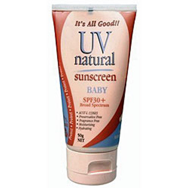 UV Natural Sunscreen SPF 30+ - 50g - Nourishing Hub