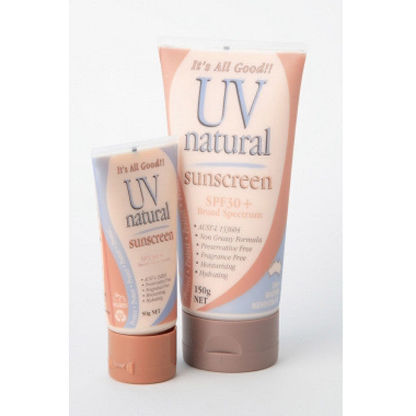 UV Natural Baby Sunscreen SPF 30+ - 150g - Nourishing Hub