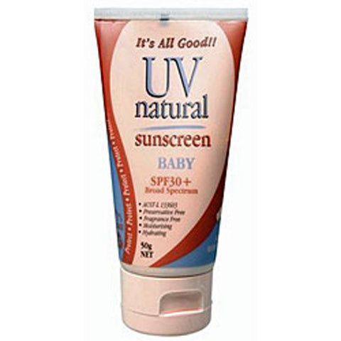 UV Natural Sunscreen SPF 30+ - 50g
