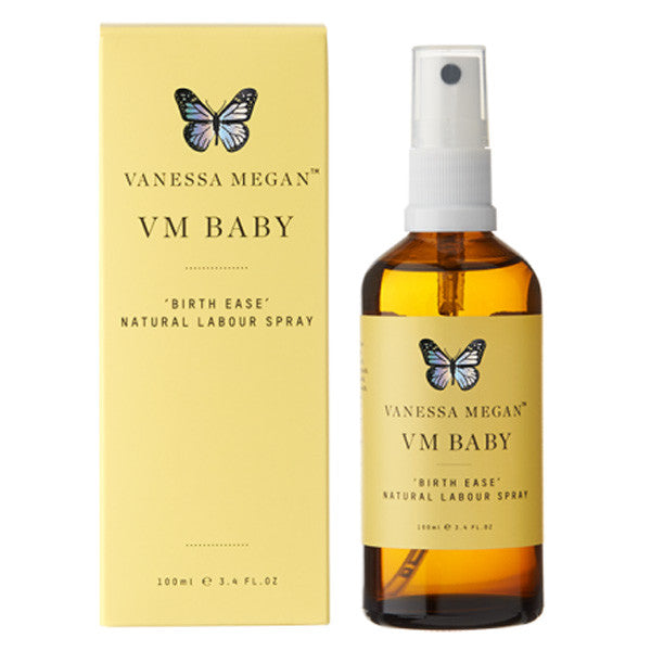 Vanessa Megan Baby Birth Ease - Labour Spray - Nourishing Hub