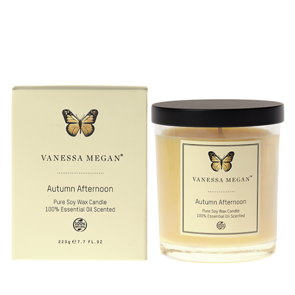 Vanessa Megan Autumn Afternoon Soy Wax Candle - Nourishing Hub