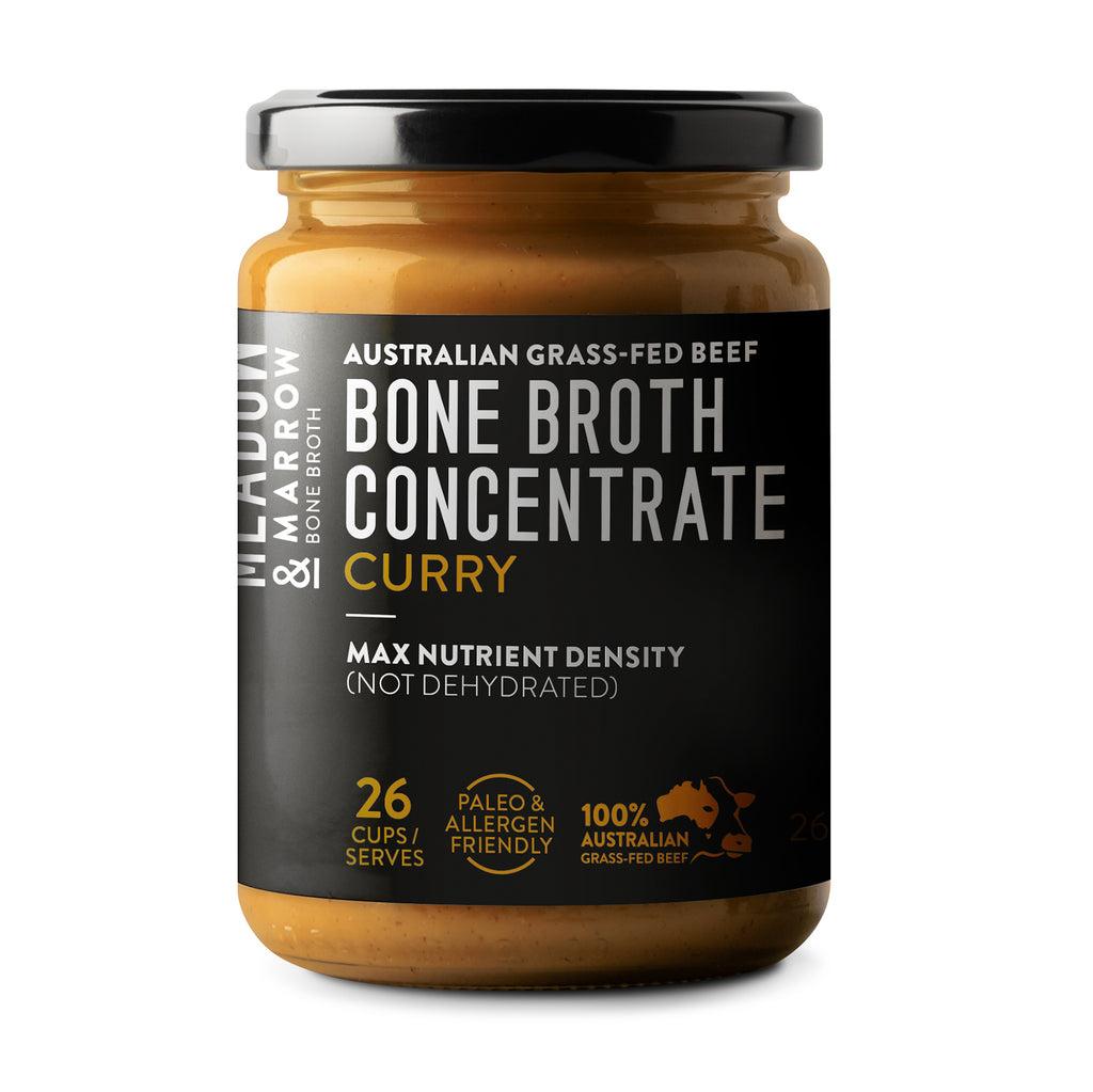 Meadow and Marrow Bone Broth Concentrate Curry - Nourishing Hub