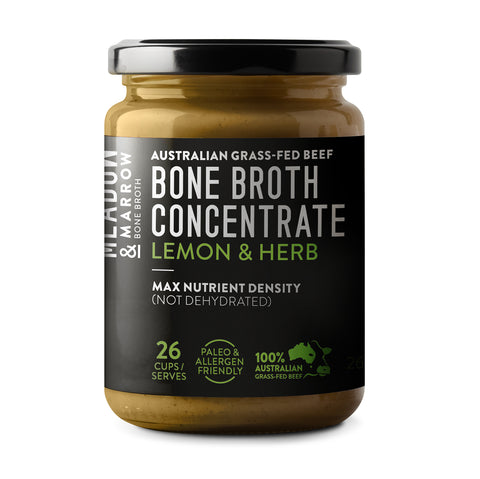 Meadow and Marrow Bone Broth Concentrate - Lemon & Herb