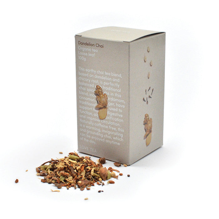 Love Chai - Dandelion Love Chai Box 100 - Nourishing Hub