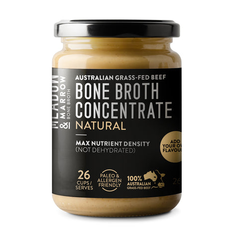 Meadow and Marrow Bone Broth Concentrate - Natural