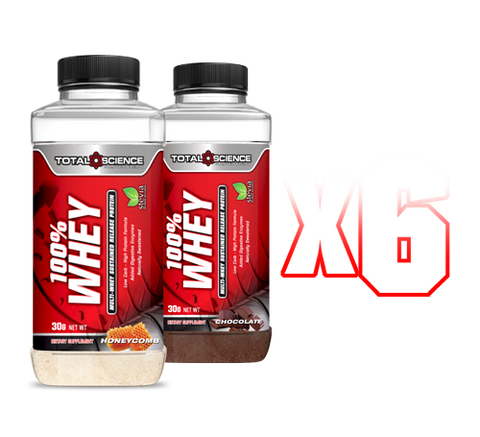 100% WHEY SHAKE N' TAKE (6 pack)