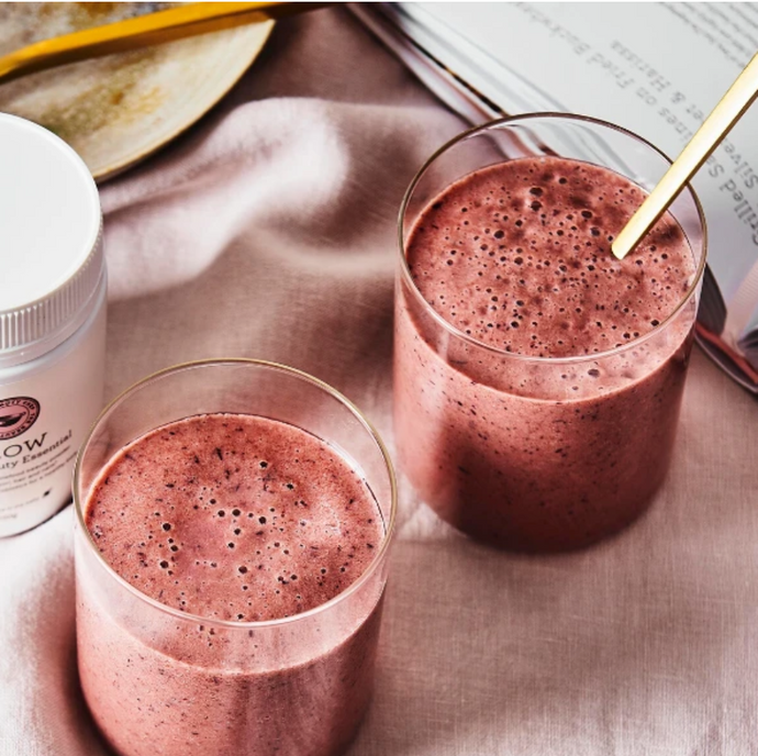 GLOW Blueberry and Cinnamon Smoothie