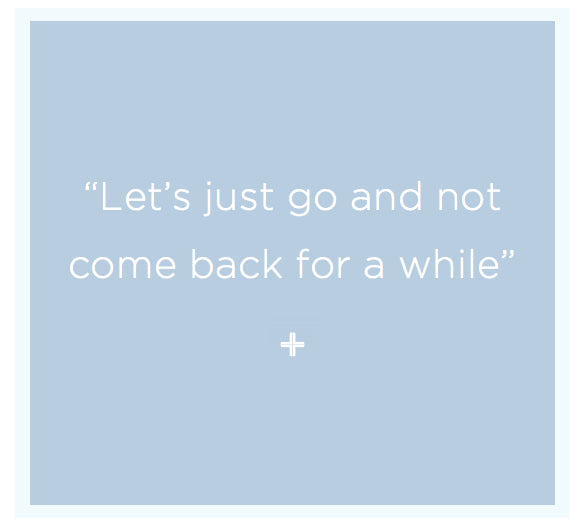 Aston Quote | Let's Just Go