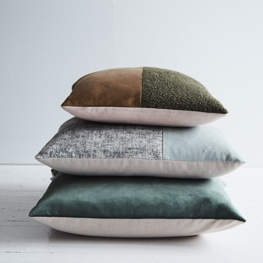 Nathan + Jac Winter Natural Cushions