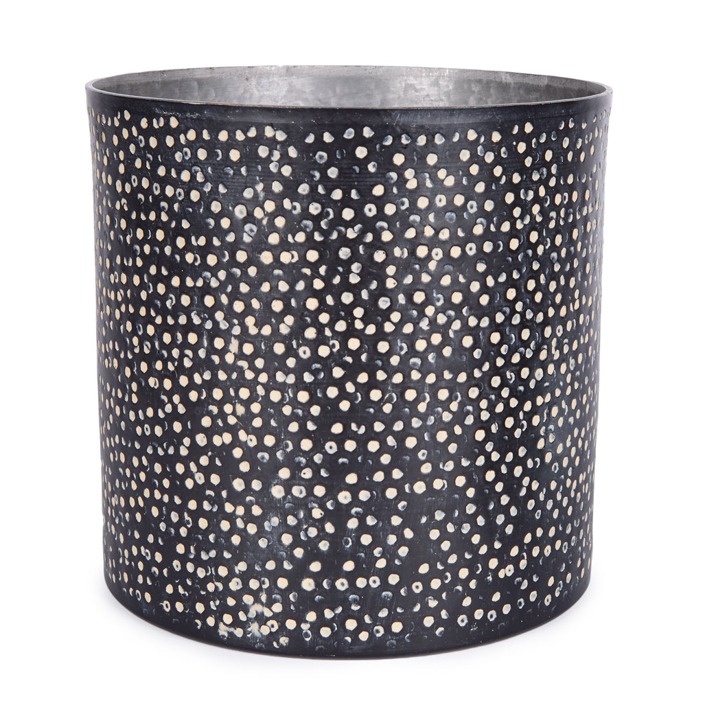 Aluminium Pot XLarge - Speckled Dot