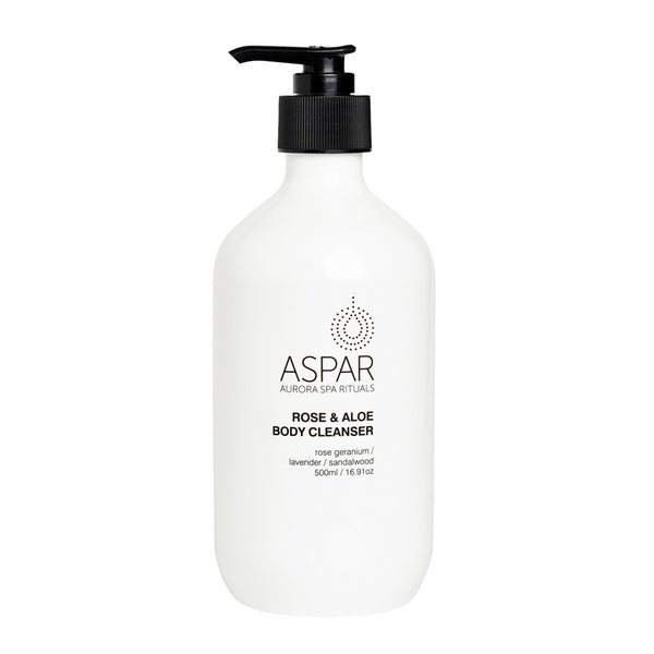 ASPAR Rose and Aloe Body Cleanser