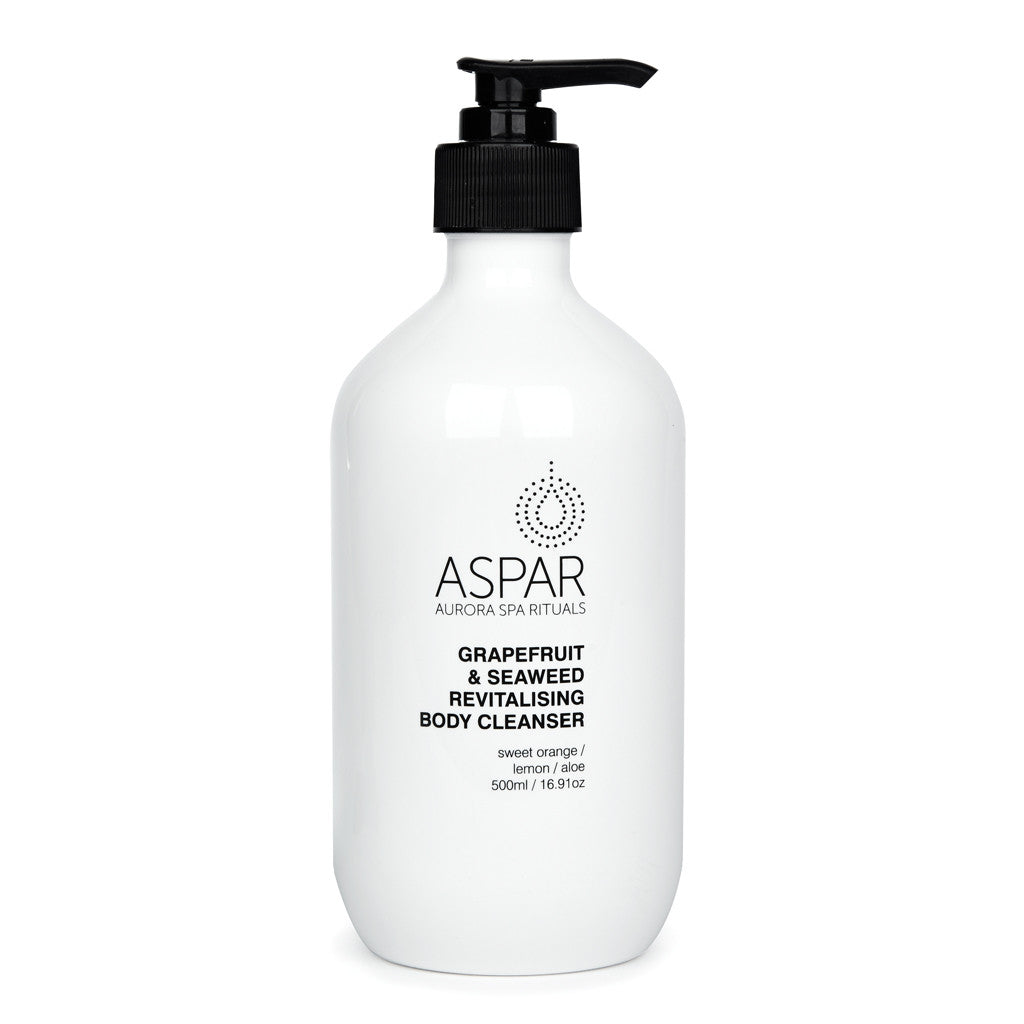 ASPAR Grapefruit and Seaweed Revitalising Body Cleanser