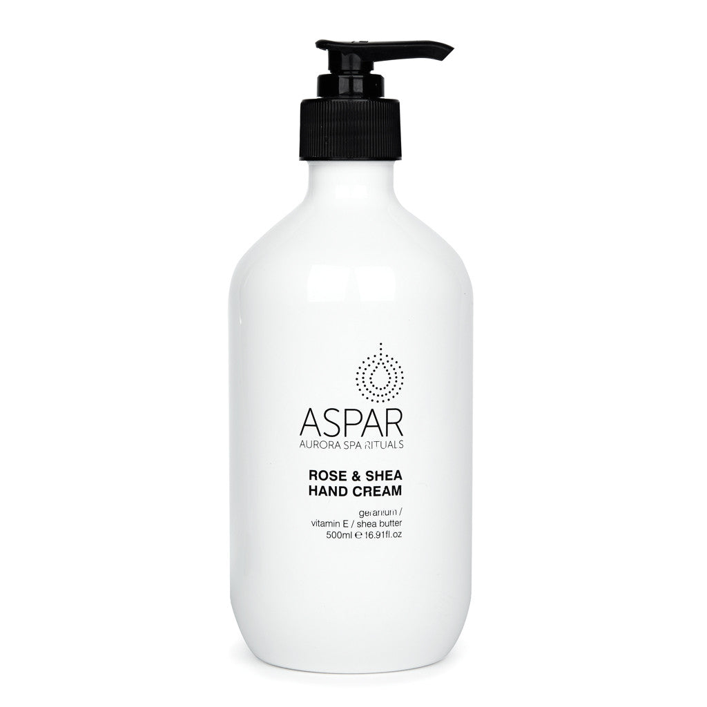 ASPAR Rose and Shea Hand Cream 500ml
