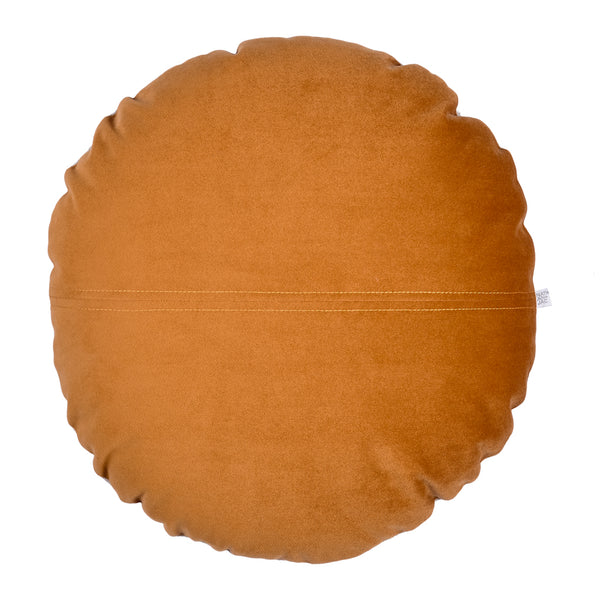 Brooklyn Round Velvet Cushion