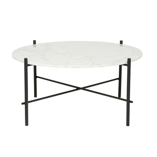 ELLE PIPE MARBLE COFFEE TABLE