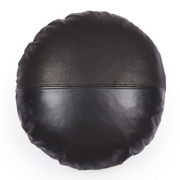 Sibella Round Leather Cushion